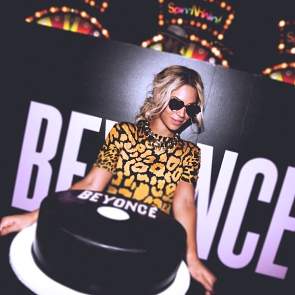 Beyoncé Holds Private Album Release Party at Dave & Buster's in Times Square