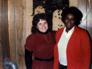 Cindy Arnold and Beulah Sharpe, 1984